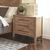 Coaster Auburn White Washed Natural Nightstand Available Online in Dallas Fort Worth Texas