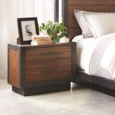 Coaster Ellison Bourbon Brown Nightstand Available Online in Dallas Fort Worth Texas
