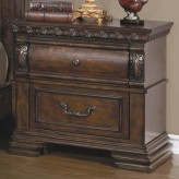 Satterfield Warm Bourbon Night Stand Available Online in Dallas Fort Worth Texas