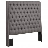 Camille Grey Queen Headboard Available Online in Dallas Fort Worth Texas