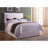 Coaster Perkins White Twin Headboard with LED Lights Available Online in Dallas Fort Worth Texas