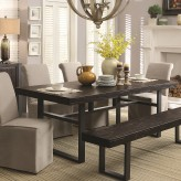 Coaster Keller Reclaimed Wood Dining Table Available Online in Dallas Fort Worth Texas
