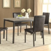 Coaster Garza Black Dining Table Available Online in Dallas Fort Worth Texas