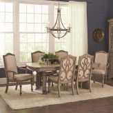 Coaster Ilana Antique Linen Rectangular Dining Table Available Online in Dallas Fort Worth Texas