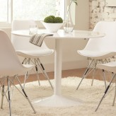 Coaster Lowry White Dining Table Available Online in Dallas Fort Worth Texas