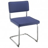 Coaster Walsh Dark Blue Upholstered Side Chair Available Online in Dallas Fort Worth Texas