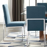 Jackson Blue Dining Chair Available Online in Dallas Fort Worth Texas