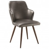 Abbott Walnut Side Chair Available Online in Dallas Fort Worth Texas