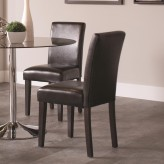 Coaster Clemente Black Side Chair Available Online in Dallas Fort Worth Texas