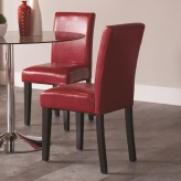 Coaster Clemente Red Dining Chair Available Online in Dallas Fort Worth Texas