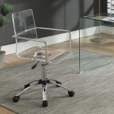Coaster Amaturo Acrylic Office ... Available Online in Dallas Fort Worth Texas