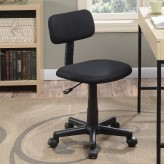 Coaster Hampton Black Adjustable Office Chair Available Online in Dallas Fort Worth Texas