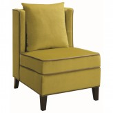 Coaster Mindel Chartreuse Accent Chair Available Online in Dallas Fort Worth Texas