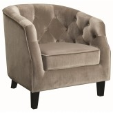 Coaster Mindel Putty Accent Chair Available Online in Dallas Fort Worth Texas