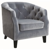 Coaster Mindel Dusty Blue Accent Chair Available Online in Dallas Fort Worth Texas