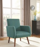 Gorges Cyan Accent Chair Available Online in Dallas Fort Worth Texas
