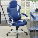 Coaster Maeve Blue Office Chair Available Online in Dallas Fort Worth Texas