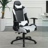 Coaster Zinnia White Office Chair Available Online in Dallas Fort Worth Texas