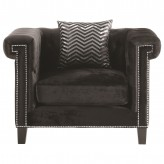 Reventlow Black Chair Available Online in Dallas Fort Worth Texas