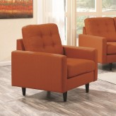 Coaster Kesson Orange Chair Available Online in Dallas Fort Worth Texas