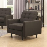Coaster Kesson Charcoal Chair Available Online in Dallas Fort Worth Texas