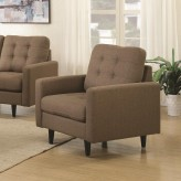 Coaster Kesson Brown Chair Available Online in Dallas Fort Worth Texas