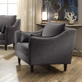 Coaster Rhys Dark Grey Chair Available Online in Dallas Fort Worth Texas