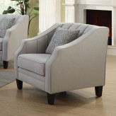 Coaster Loxley Grey Chair Available Online in Dallas Fort Worth Texas