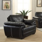 Coaster Zenon Black Chair Available Online in Dallas Fort Worth Texas