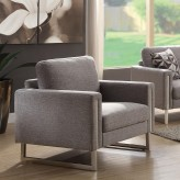 Coaster Stellan Grey Chair Available Online in Dallas Fort Worth Texas