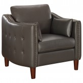 Coaster Braxten Grey Chair Available Online in Dallas Fort Worth Texas
