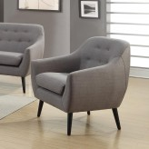 Coaster Dawson Grey Chair Available Online in Dallas Fort Worth Texas
