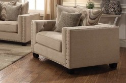 Coaster Lyonesse Beige Chair Available Online in Dallas Fort Worth Texas