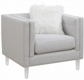Coaster Hemet Light Grey Chair Available Online in Dallas Fort Worth Texas