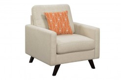 Coaster Montana Linen Patterned Woven Chair Available Online in Dallas Fort Worth Texas
