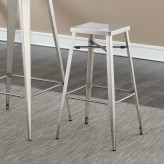 Coaster Scott Silver Bar Stool Available Online in Dallas Fort Worth Texas