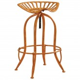 Coaster Rec Room Antique Orange Bar Stool Available Online in Dallas Fort Worth Texas