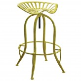 Coaster Rec Room Antique Yellow Bar Stool Available Online in Dallas Fort Worth Texas