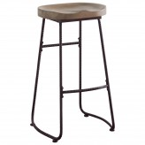 Rec Room Driftwood Bar Stool Available Online in Dallas Fort Worth Texas