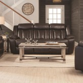 Coaster Bevington Chocolate Sofa Available Online in Dallas Fort Worth Texas