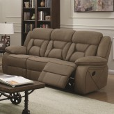 Coaster Houston Tan Reclining Sofa Available Online in Dallas Fort Worth Texas