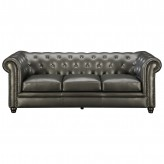 Coaster Roy Gunmetal Grey Sofa Available Online in Dallas Fort Worth Texas