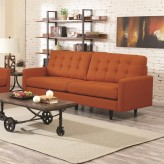 Coaster Kesson Orange Sofa Available Online in Dallas Fort Worth Texas