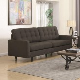 Coaster Kesson Charcoal Sofa Available Online in Dallas Fort Worth Texas