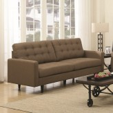 Coaster Kesson Brown Sofa Available Online in Dallas Fort Worth Texas