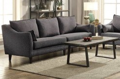 Coaster Rhys Dark Grey Sofa Available Online in Dallas Fort Worth Texas