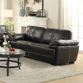 Coaster Zenon Black Sofa Available Online in Dallas Fort Worth Texas