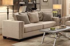 Coaster Lyonesse Beige Sofa Available Online in Dallas Fort Worth Texas