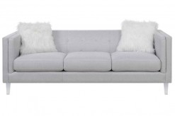 Coaster Hemet Light Grey Sofa Available Online in Dallas Fort Worth Texas