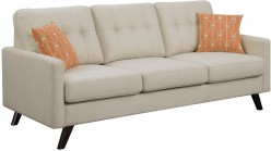 Coaster Montana Linen Patterned  Sofa Available Online in Dallas Fort Worth Texas